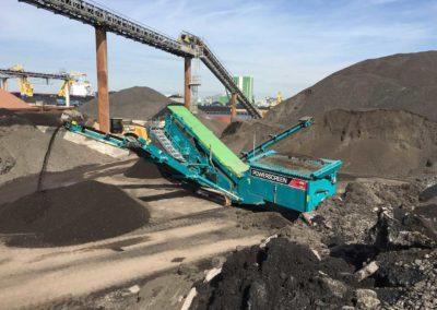 Criba de clasificación para áridos y minería