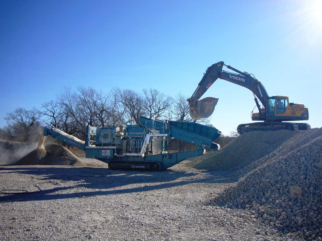 Maquinaria para trituración secundaria de áridos y minería (cono)