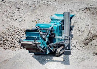 Maquinaria para trituración secundaria de áridos y minería (impactor)