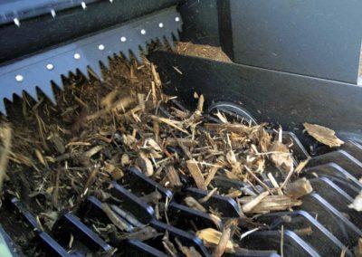 Maquinaria para cribado y clasificación de madera