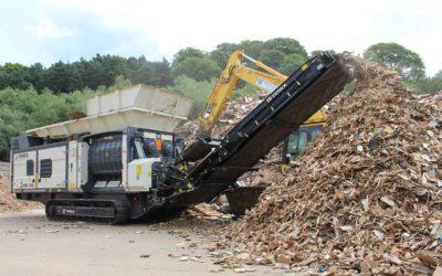 Reciclaje de RCD, residuos y plásticos: toda la maquinaria a tu alcance.