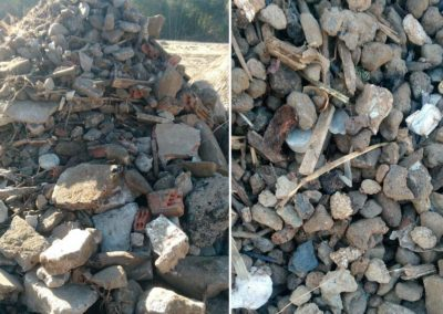 Tratamiento de RCD (residuos de construcción y demolición)
