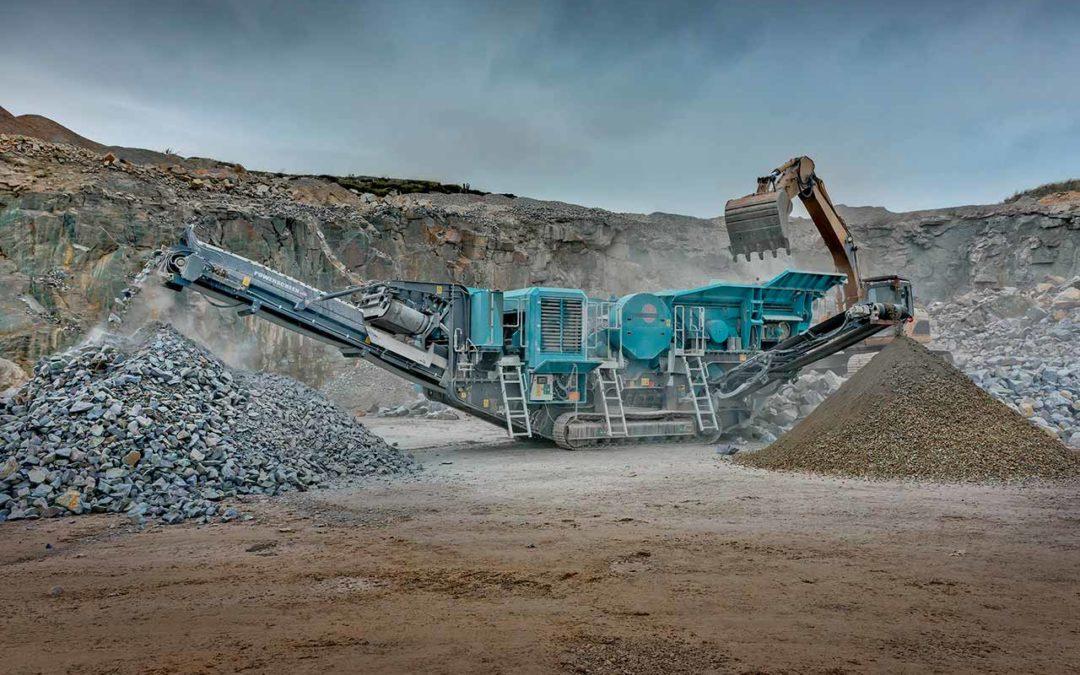 Somos especialistas en maquinaria de tratamiento de áridos y minería