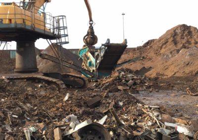 Maquinaria para el reciclaje de chatarra