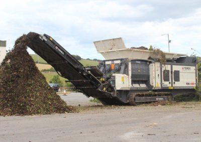 Maquinaria para reciclaje de compostaje y residuos orgánicos